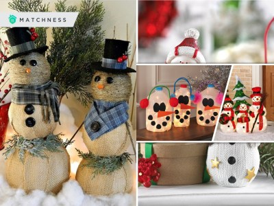 Cute snowmen ornaments for your christmas home decor