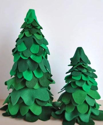 Fabric-felt-and-burlap-christmas-trees_3