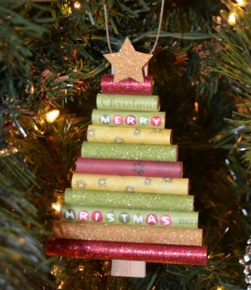 Rolled-paper-christmas-tree-ornament