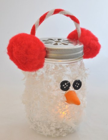 Snowman-mason-jar-diy