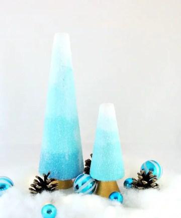 Glitter-cone-trees
