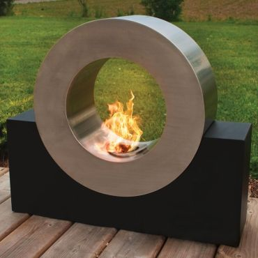 Modern+circular+fire+pit
