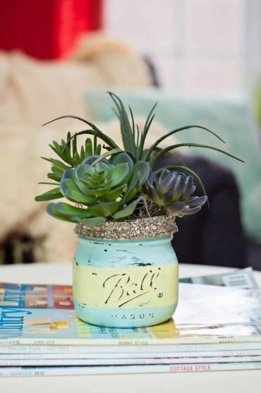 Succulent+decor+arrangement+idea