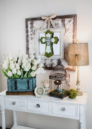 1 07-wh1ite-tulips-with-willow-in-a-box-moss-touches-and-a-bird-cage-with-a-faux-biard-and-nest