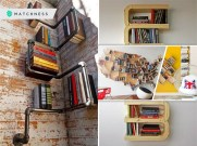 20 best ways to re-style your boring bookshelf 5