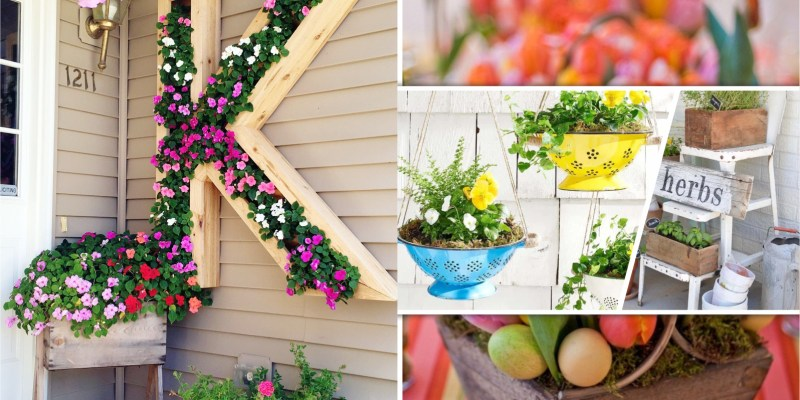 75 decorative planters to beautify your spring decoration 5
