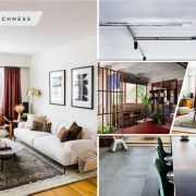 Apartment renovation done in bold shades and in realistic style 5