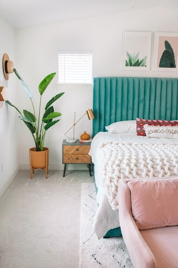 Bright items and patterns Amazeballs Spring Bedroom Decoration Ideas To Bring Mood And Fresh