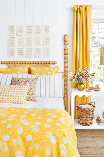 Bring spring through textile Amazeballs Spring Bedroom Decoration Ideas To Bring Mood And Fresh