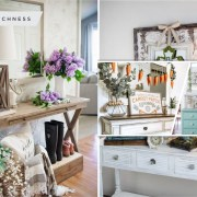 Bring the spring touches to your entryway with these 25 ideas 5