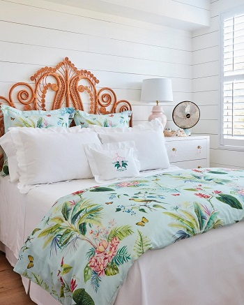 Cherry bedroom Serving The Ultimate Staycation With These Tropical Room Design Ideas