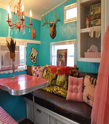 Cowgirl caravan Selected RV Decoration Ideas You Want To Copy This Time