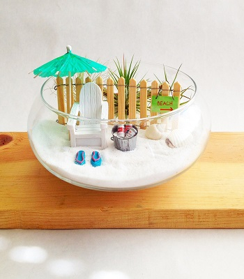 Funny island Ultra-Gorgeous Miniature Fairy Garden Design That Is Trendy For Backyards And Anywhere
