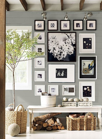 Gallery wall Captivating Entryway Ideas That Are Too Good To Be True