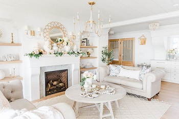 Gorgeous way to decorate a home with faux florals in spring that so inspiring 1