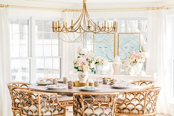 Gorgeous way to decorate a home with faux florals in spring that so inspiring 4