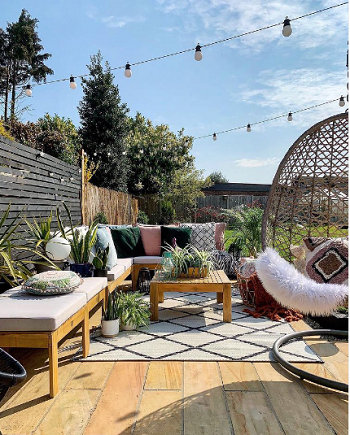 Inside featuring outside Exhilarating Garden Ideas That Always Be In Trend And Style