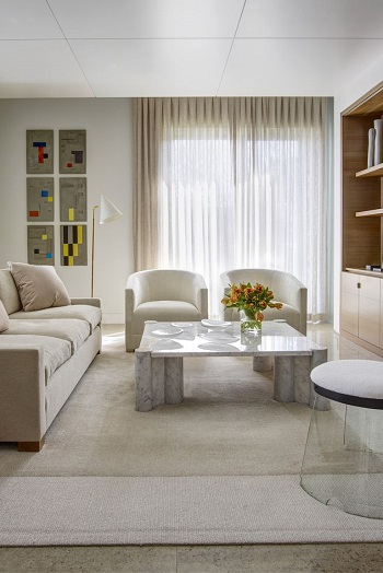 Ivory area rug Visualize Your Space With These Selected Family Room Carpet Ideas