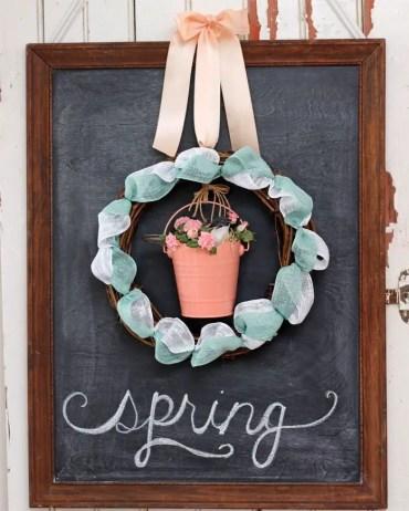 Spring-ribbon-wreath