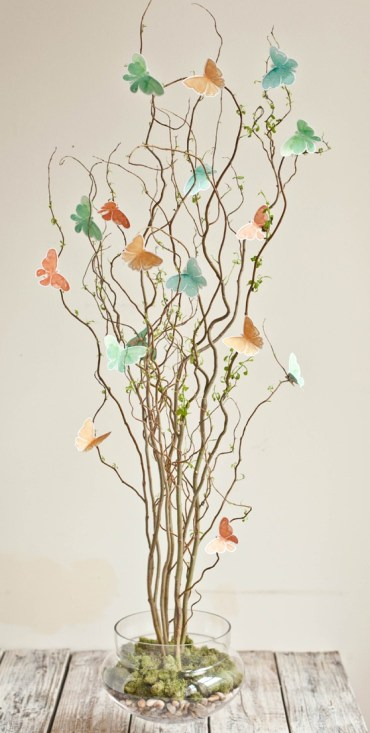 Twig-and-butterfly-centerpiece