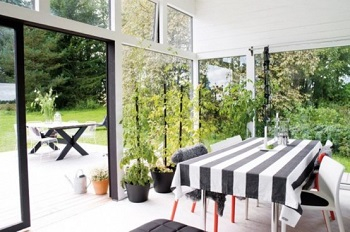 Unique orangery for listening to the rain or enjoy the nature during dinner 5