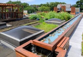 Decorative raised pool