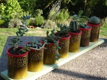 Tin-can-craft-ideas-garden-table-centerpiece-cactus-decor