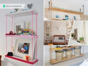 15 hanging shelves to complete your unique home furniture 2