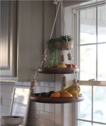 2-14-a-fun-hanging-shelf-for-fruit-with-beads-and-ropes-and-some-succulents-on-top-is-a-cute-and-easy-idea