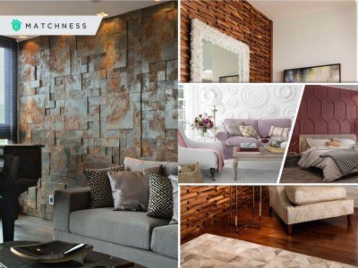 20 unique and aesthetic textured wall designs for your home interior 2