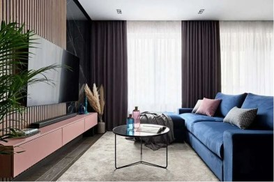 Apartment with modern interior design for a young family 1
