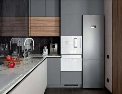 Apartment with modern interior design for a young family 4