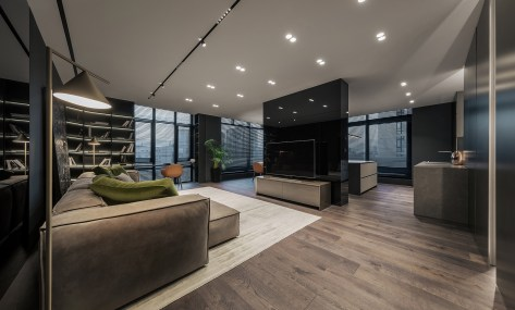 Awesome apartment design for a small family 1