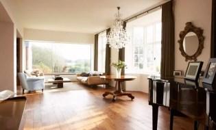 Beautiful transparent living room