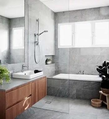 Classic grey Most Enchanting Minimalist Bathroom Design Ideas To Have