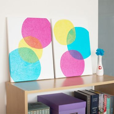 Diy-wall-art-bubbles