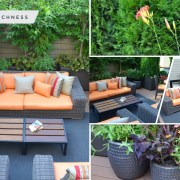 Elegant terrace garden with daunting landscape design to welcome spring 5