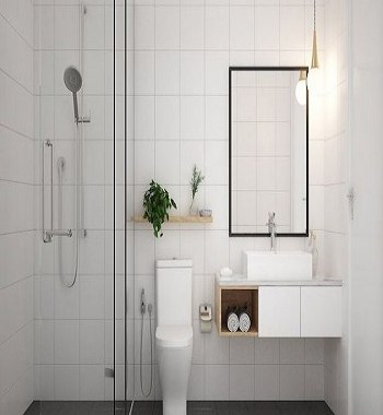 Furniture adapted to your needs and space 5 Ultimate Essentials To Present Appropriate Minimalist Bathroom