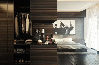 Luxury penthouse design with dramatic touches 6