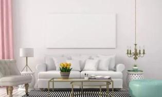 Missmatched living room lighting