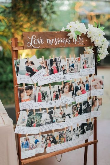 Polaroid-guest-message-wedding-decor