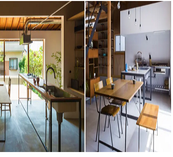 The minimum of minimalism Earth-Toned Minimalist Kitchen Ideas With Simplicity And Harmony