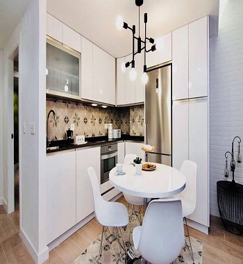 Tiny kitchen with a stellar design Galvanize Minimalist Kitchen Design Ideas For Your Modern Homes