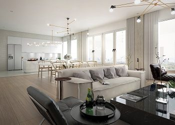 Ultra luxury apartment with high-end interiors to give you serenity time 3
