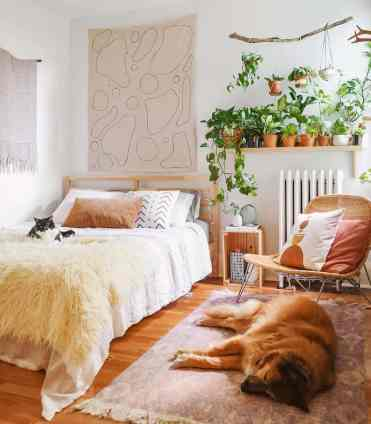 Bedroom-indoor-garden-ideas-leaves.and_.bones_