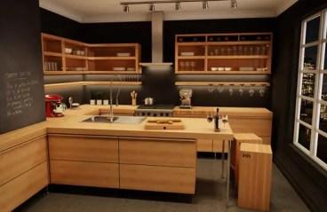Modern-wood-kitchen