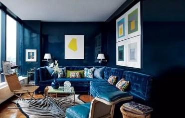 Navy-walls-and-sofa