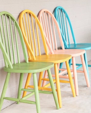 1-c1olorful-chalk-painted-chairs