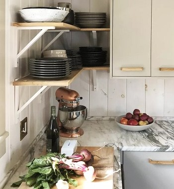 6 Unexpected And Inspiring Shelf Design For Your Minimalist Kitchen
