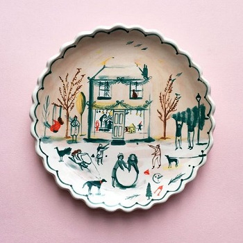 Transform Your House Into Art Gallery With These Amazing Clay Plate Arts